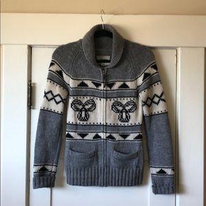Aritzia TNA Zip-up Sweater